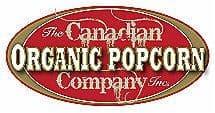 canadian organic popcorn logo